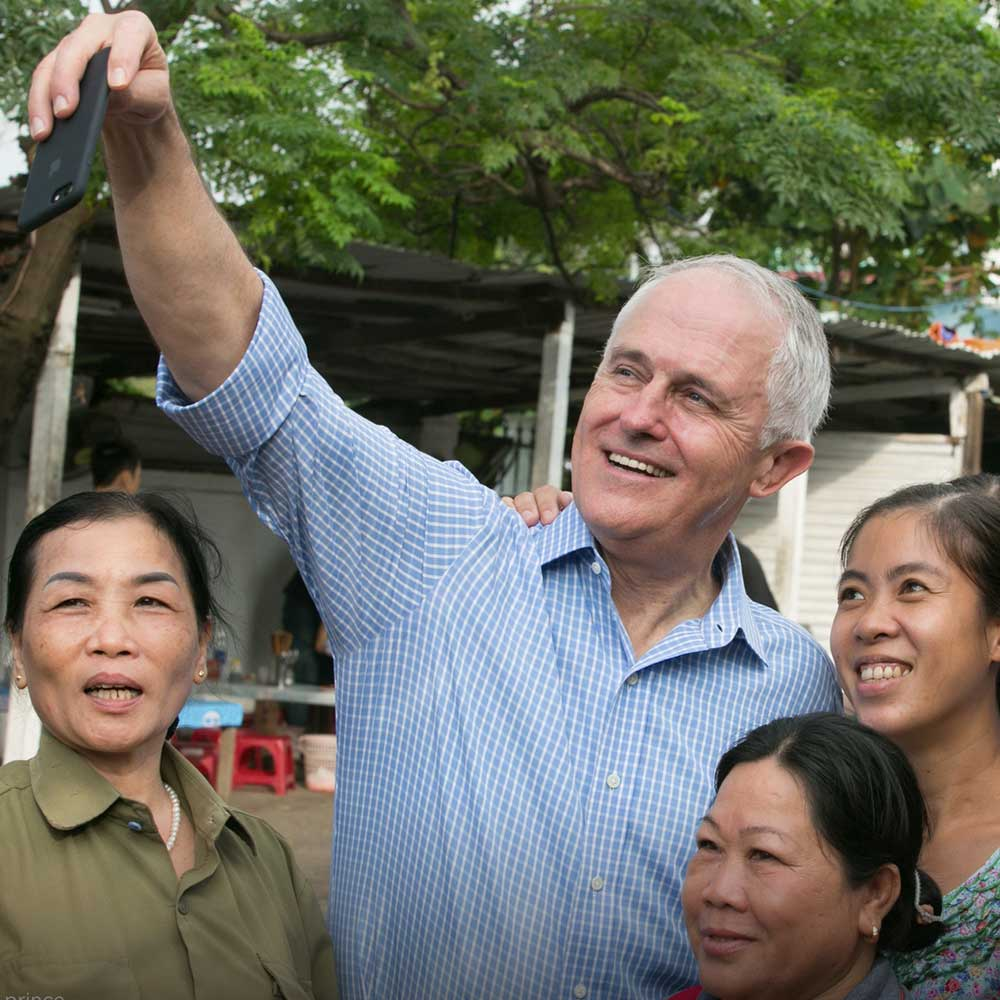 cover photography 18 - Australian Prime Minister Malcolm Turnbull