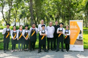 taste of australia in DANANG 2017 prince production 41