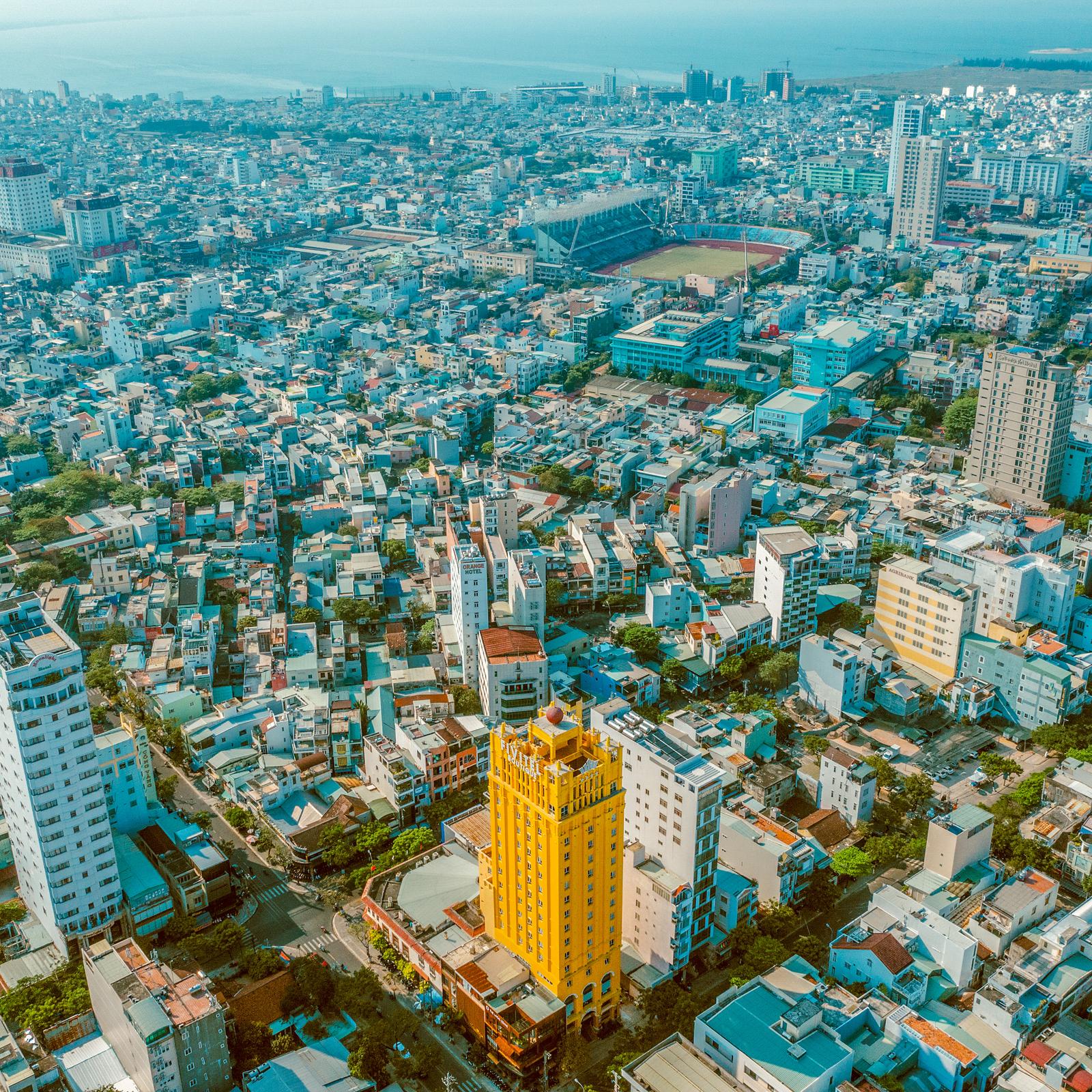 DJI 0256 Edit - (Tiếng Việt) CHỤP ẢNH MÓN ĂN FOUR POINTS BY SHERATON DANANG